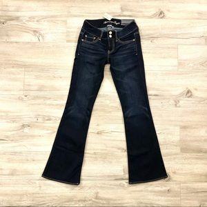AEO Super Stretch Artist flare jeans